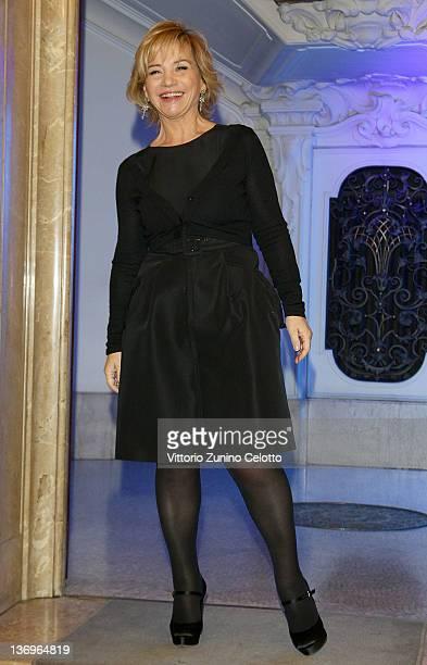 Designer Alberta Ferretti attends the Alberta Ferretti Special Event during the Milan Fashion Week Autumn / Winter 2012 on January 13 2012 in Milan...