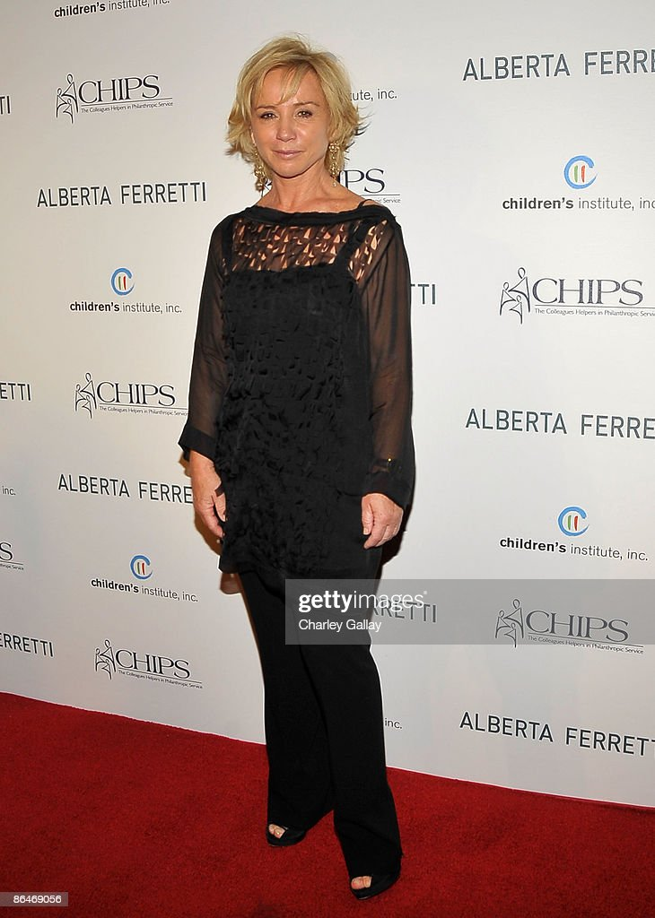 C.H.I.P.S Honors Alberta Ferretti At Their 2009 Spring Luncheon : News Photo