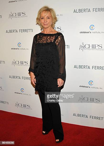 Designer Alberta Ferretti attends the CHIPS 2009 luncheon and fashion show honoring her at the Montage Beverly Hills on May 6 2009 in Los Angeles...