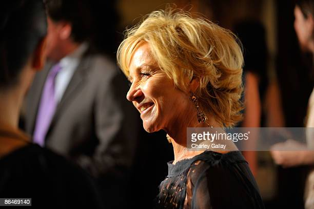 Designer Alberta Ferretti attends the CHIPS 2009 luncheon and fashion show honoring Alberta Ferretti at the Montage Beverly Hills on May 6 2009 in...