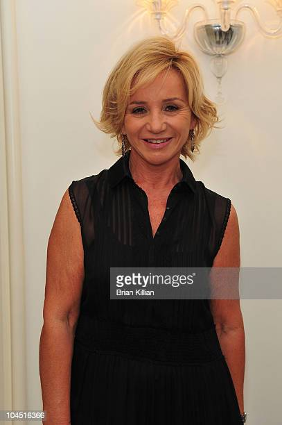 Designer Alberta Ferretti attends the Philosophy di Alberta Ferretti Spring 2011 fashion show during MercedesBenz Fashion Week at Aeffe USA on...