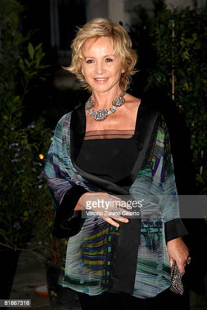 Designer Alberta Ferretti attends Uomo Vogue 40th Anniversary Celebration Party as part of Milan Fashion Week Menswear Spring/Summer 2009 on June 22...