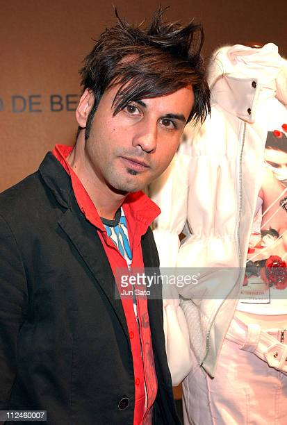Designer Alessandro De Benedetti during Tokyo Fashion Week Fall-Winter 2004 -Italian Trade Commission Presents Eight New Designers at Laforet Museum,...