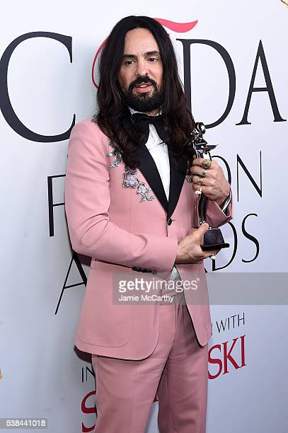 Designer Alessandro Michele attends the 2016 CFDA Fashion Awards at the Hammerstein Ballroom on June 6 2016 in New York City