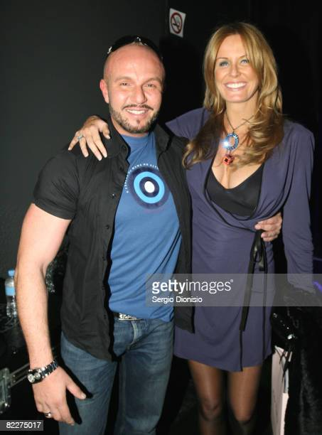 Designer Alex Perry and TV personlity Charlotte Dawson attends the Fashion Targets Breast Cancer with Alex Perry and IMG Fashion gala event...