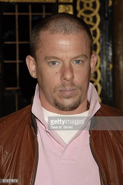 Designer Alexander McQueen attends the private VIP party thrown by model Helena Christensen in association with Swarovski and Diesel at Paper Regent...