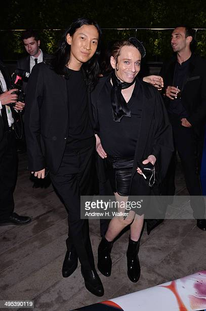 Designer Alexander Wang and actor Chris Kattan attend the 2014 CFDA Fashion Awards at Alice Tully Hall Lincoln Center on June 2 2014 in New York City