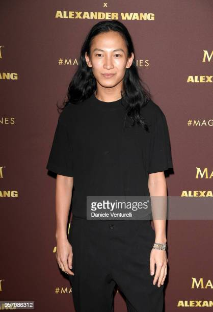 Designer Alexander Wang attends the Magnum VIP party during the 71st annual Cannes Film Festival at Magnum Beach on May 10 2018 in Cannes France