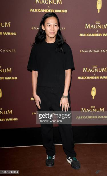 Designer Alexander Wang attends the Magnum VIP party during the 71st annual Cannes Film Festival at Magnum Beach on May 10, 2018 in Cannes, France.