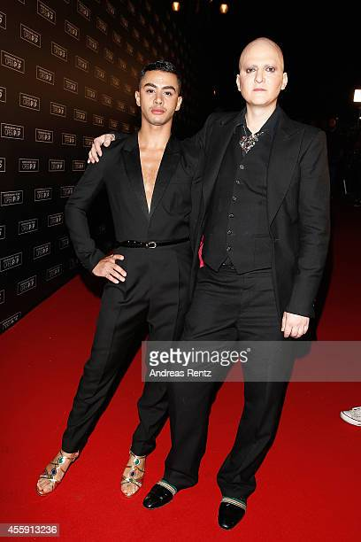 Designer Ali Mahdavi with guest attend Intimissimi on Ice OperaPop at the Arena di Verona on September 20 2014 in Verona Italy The world diverted...