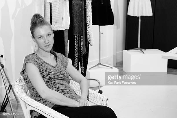 Designer Alice Lemoine at the 'Designer Appartments' as part of the Paris Fashion Week Womenswear Spring/Summer 2014on September 29 2013 in Paris...