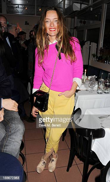 Designer Alice Temperley attends the Stylecom dinner celebrating London fashion hosted by editorinchief Dirk Standen at Shrimpy's in The Kings Cross...