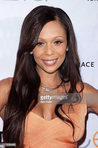 Designer Alisa Maria attends the 3rd Annual AER Walk With Style Gala to Benefit CancerCare at Hudson Terrace on March 31 2011 in New York City