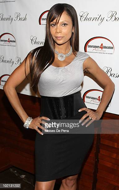 Designer Alisa Maria attends the 4 Education Alliance Charity Bash celebrating 4 years of empowering youth to believe they can succeed at BLVD on...