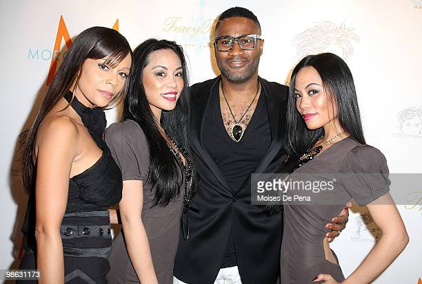 Designer Alisa Maria ToTam and ToNya TonNu of Sachika and Kieth Campbell attends the 'Cuts Of Our Infirmities' book launch party at the Tracy Reese...