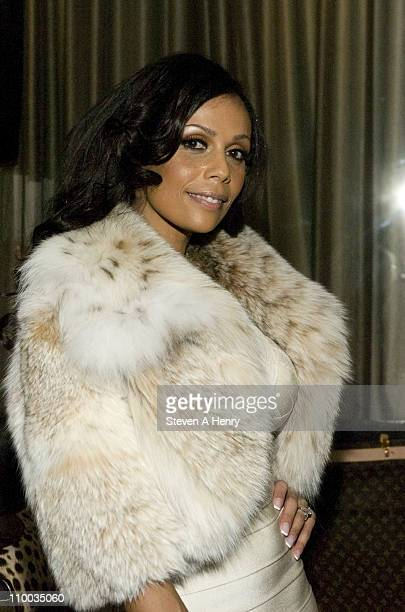 Designer Alisa Marie attends the Alisa Maria Furs Fall 2011 fashion show during MercedesBenz Fashion Week at The Empire Room on February 17 2011 in...