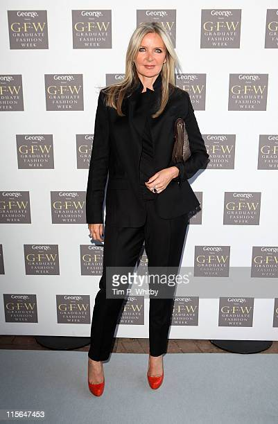 Designer Amanda Wakeley attends Graduate Fashion Week Gala at Earls Court Two on June 8 2011 in London England