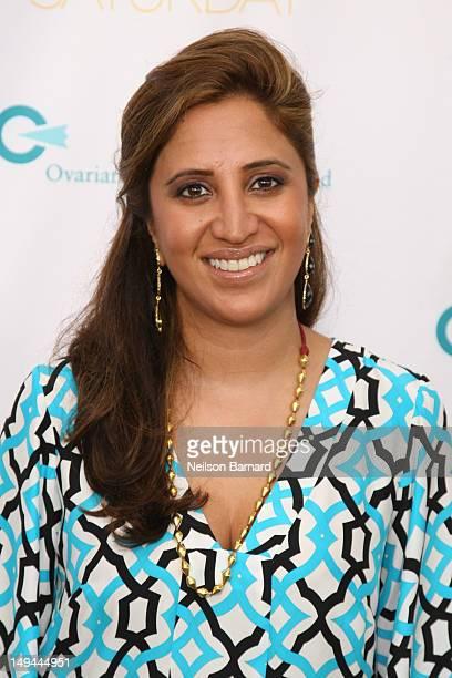 Designer Amrita Singh attends QVC Presents Super Saturday LIVE on July 28 2012 in Water Mill New York