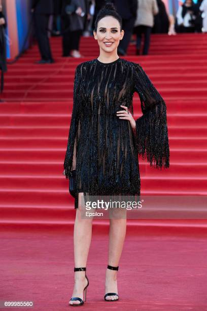 Designer Anastasia Zadorina attends opening of the 39th Moscow International Film Festival outside the Karo 11 Oktyabr Cinema on June 22 2017 in...