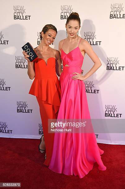 Designer and CEO of Milly Michelle SmithOshrin and New York City Ballet ballerina Unity Phelan attends New York City Ballet's Spring Gala at David H...