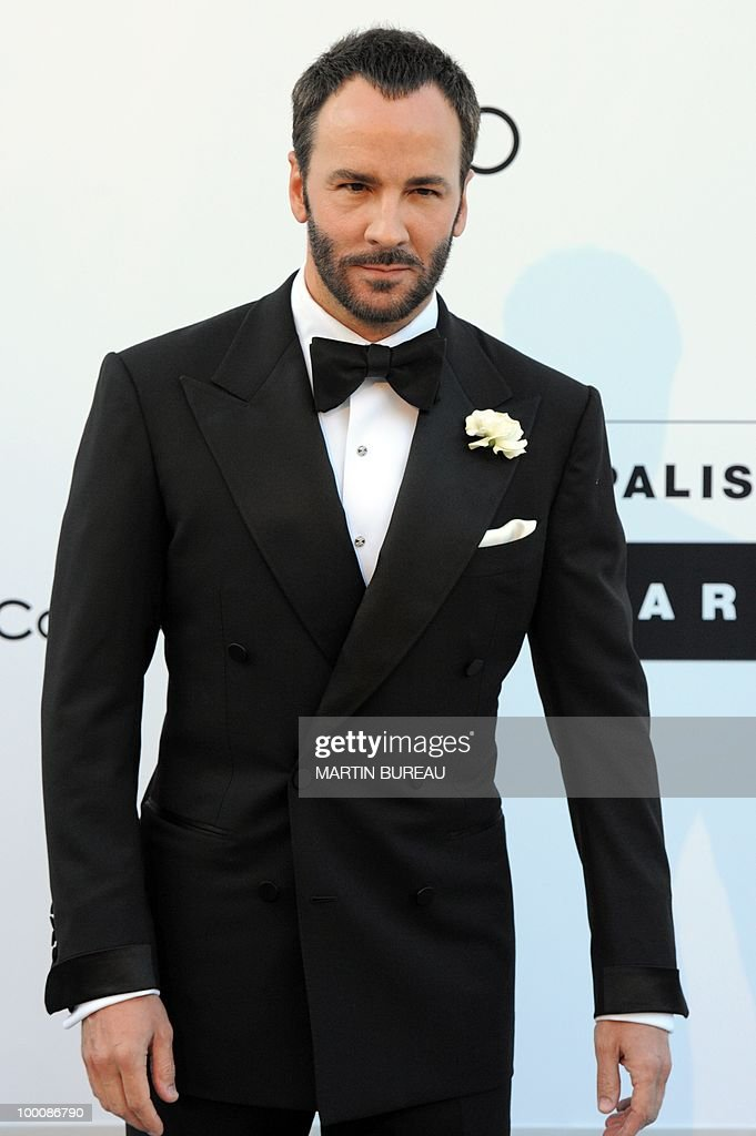US designer and director Tom Ford poses while arriving at amfAR's Cinema Against Aids 2010 benefit gala on May 20, 2010 in Antibes, southeastern France.