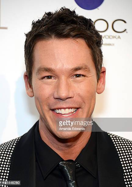 Designer and television personality David Bromstad arrives at the Los Angeles Confidential and Harmony Project GRAMMY after party honoring Mary J...