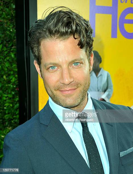 Designer and TV Host Nate Berkus attends the premiere of DreamWorks Pictures' 'The Help' held at The Academy of Motion Picture Arts and Sciences...