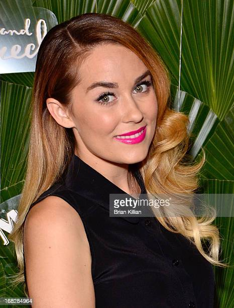 Designer and TV personality Lauren Conrad attends the Malibu Island Spiced Launch Party at PHD Rooftop Lounge at Dream Downtown on May 7 2013 in New...