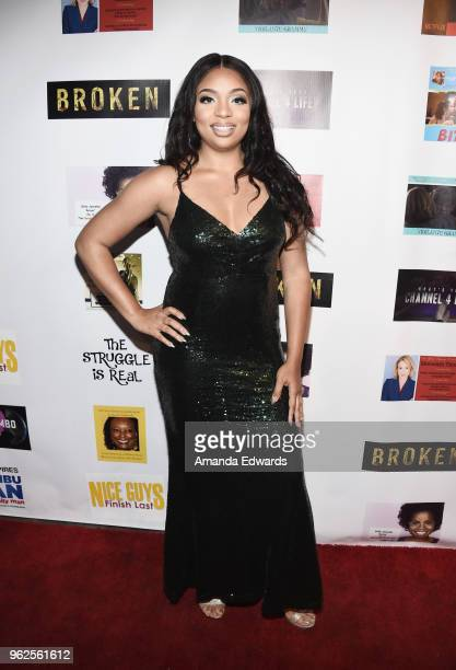Designer Andrea Ward arrives at the FYC Us Independents Screenings and Red Carpet at the Elks Lodge on May 25 2018 in Van Nuys California
