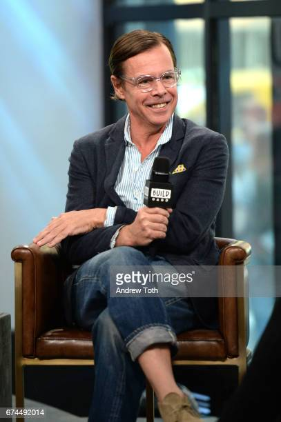 Designer Andy Spade attends AOL Build Series to discuss his latest project Frances Valentine at Build Studio on April 28 2017 in New York City