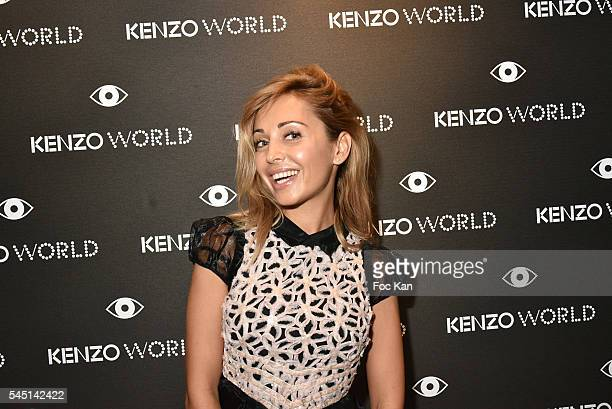 Designer Angelina Ober attends 'Kenzo World' Kenzo New Perfume Launch and Spike Jonze Clip screening Party as part of Paris Fashion Week Haute...