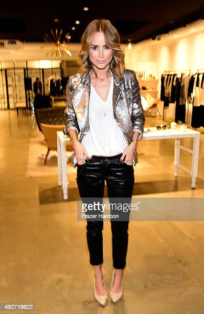 Designer Anine Bing attends the Anine Bing Celebrates Los Angeles Flagship Opening at Anine Bing Boutique on October 14 2015 in Los Angeles California