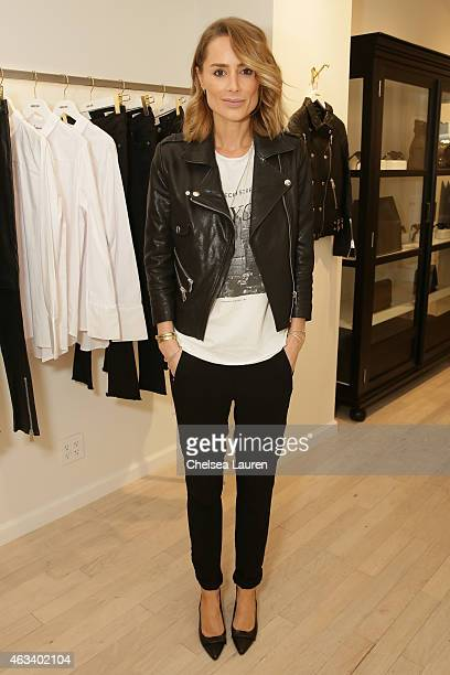 Designer Anine Bing attends the opening of her New York store on February 13 2015 in New York City