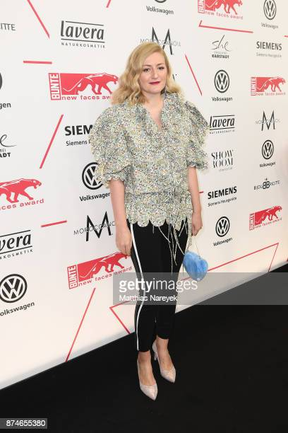 Designer Anna Heinrichs attends the New Faces Award Style 2017 at The Grand on November 15 2017 in Berlin Germany