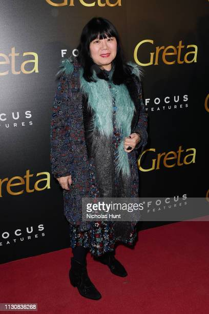 Designer Anna Sui attends a Special Screening hosted by Focus Features Greta at Metrograph on February 19 2019 in New York City