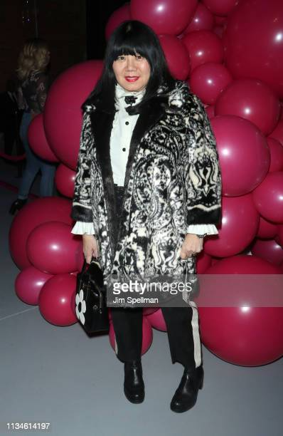 Designer Anna Sui attends the Barbie 60th Anniversary Celebration at 505 Broadway on March 08 2019 in New York City