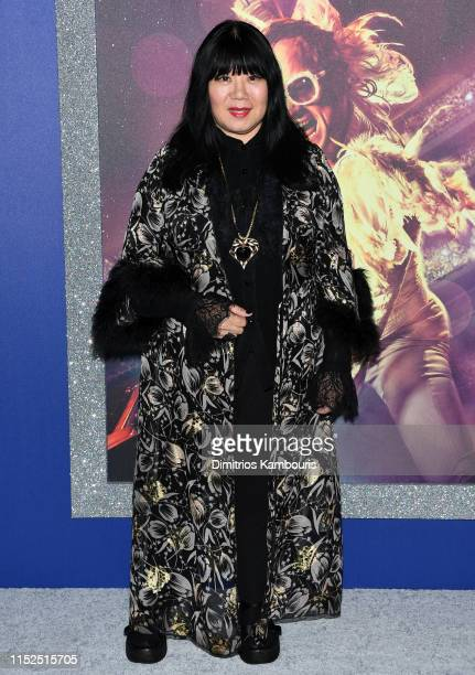 Designer Anna Sui attends the Rocketman New York Premiere at Alice Tully Hall on May 29 2019 in New York City