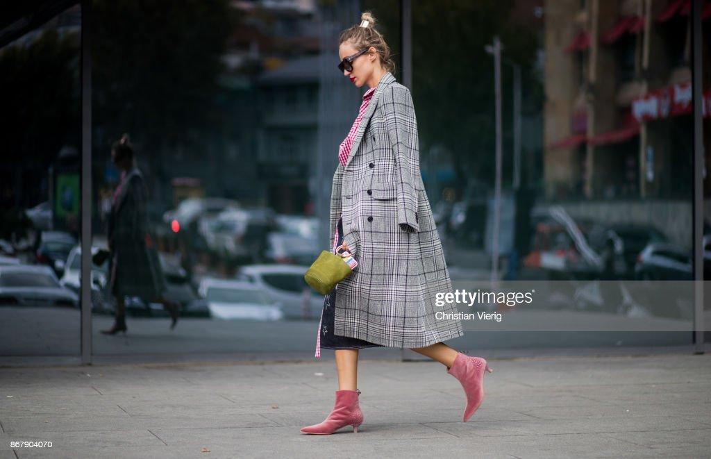 Street Style: October 29 - Tbilisi Fashion Week Spring/Summer 2018 : News Photo