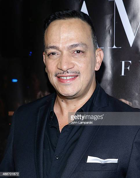 Designer Anthony Rubio attends 'Inside Amato' New York premiere at Liberty Theater on September 16 2015 in New York City