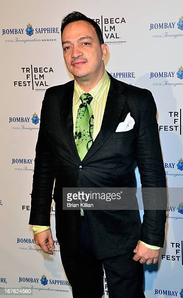 Designer Anthony Rubio attends the screening of Bombay Sapphire Imagination Series Film during the 2013 Tribeca Film Festival at Drive In Studios on...