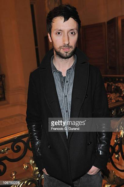 Designer Anthony Vaccarello attends the Joyce Hong Kong 40th Anniversary - Intimate Dinner Hosted By Keith Of Joyce & Angelica Cheung at Shangri-La...