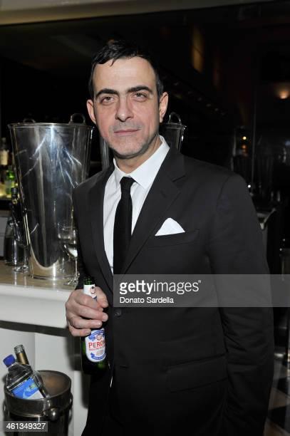 Designer Antonio Berardi attends Private Antonio Berardi dinner on January 7 2014 in Beverly Hills California