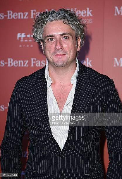 Designer Antonio Grimaldi attends the Mercedes Benz Fashion Week KickOff Party on October 14 2006 in Los Angeles California