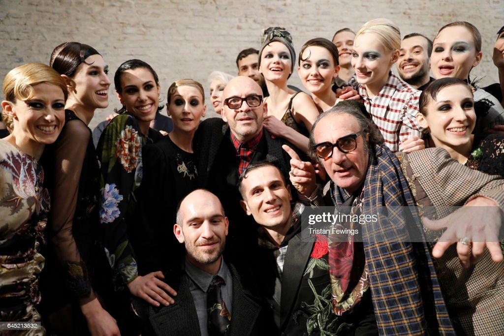 Antonio Marras - Backstage - Milan Fashion Week Fall/Winter 2017/18
