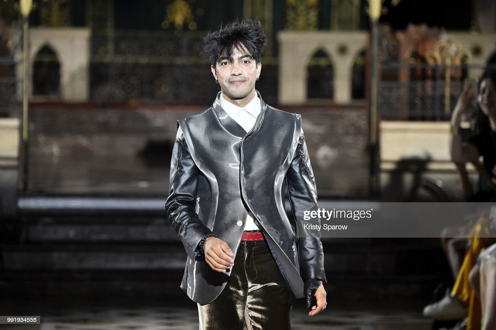 FRA: Antonio Ortega : Runway - Paris Fashion Week - Haute Couture Fall Winter 2018/2019