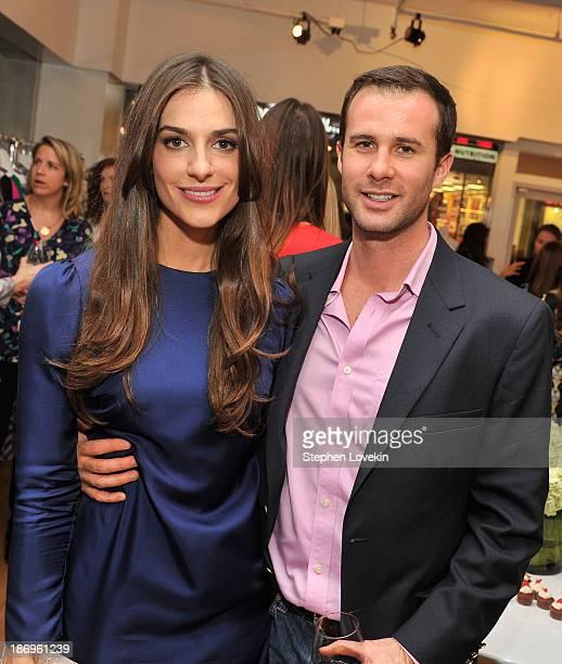 Designer Ariana Rockefeller and Matthew Bucklin attend the private reception celebrating the opening of the Ariana Rockefeller Popup Shop on November...