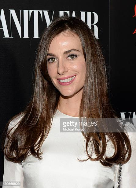 Designer Ariana Rockefeller attends the launch celebration of the Banana Republic L'Wren Scott Collection hosted by Banana Republic L'Wren Scott and...