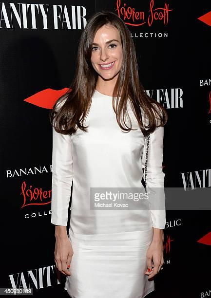 Designer Ariana Rockefeller attends the launch celebration of the Banana Republic L'Wren Scott Collection hosted by Banana Republic L'Wren Scott and...