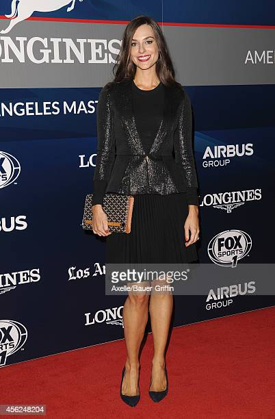 Designer Ariana Rockefeller attends the Longines Los Angeles Masters Red Carpet and Charity ProAM at Los Angeles Convention Center on September 27...