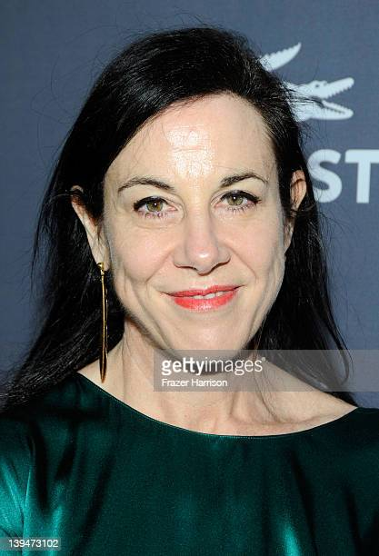 Designer Arianne Phillips arrives at the 14th Annual Costume Designers Guild Awards With Presenting Sponsor Lacoste held at The Beverly Hilton hotel...
